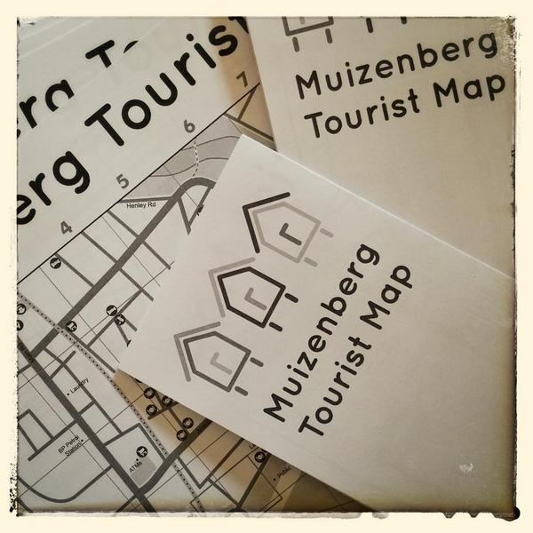 Muizenberg Tourist Map