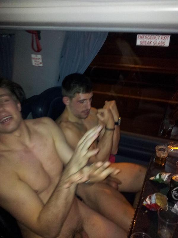 from Kaison naked men on a bus
