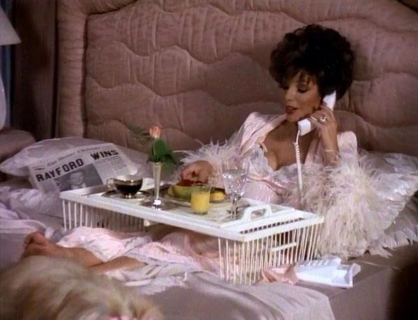 joan collins on twitter having lovely sunday morning. Black Bedroom Furniture Sets. Home Design Ideas