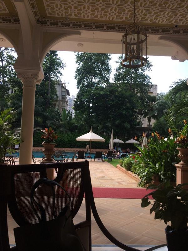 The beautiful @TajMahalMumbai ...such a wonderful place with the most amazing staff.... http://t.co/RTLGuo15wV