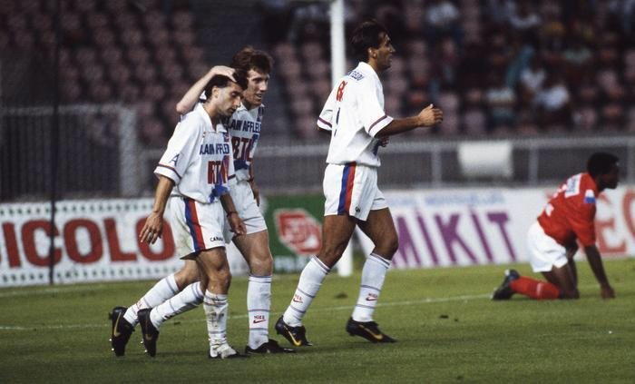 "Histoire du #PSG on Twitter: ""Christian Perez, Pierre Reynaud et ..."