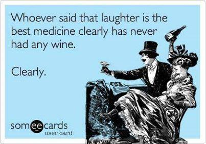 "My mission! ""winewankers: Laughter and #wine, a powerful combo! http://t.co/O5q587MNBf"""