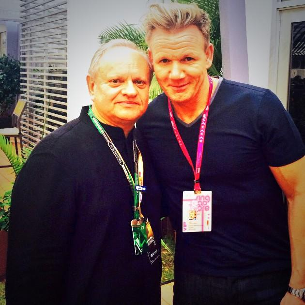 Image result for robuchon and gordon ramsay