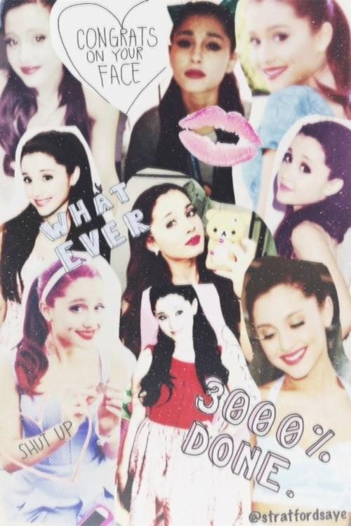 Ariana Grande Tumblr Collage 2014 Giovanni_Pavone...