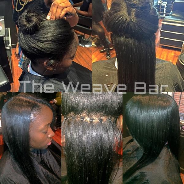 The Weave Bar On Twitter Wear Your Hair In A Bun High Ponytail