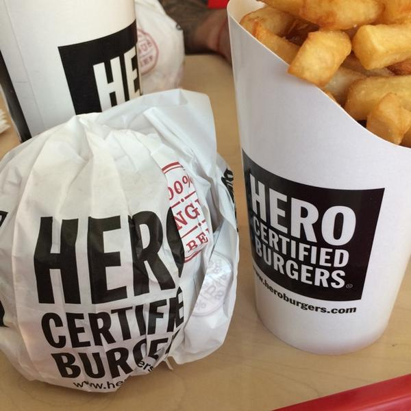 I didn't know @heRobust owned a chain of burger joints... http://t.co/STLlwZciHr