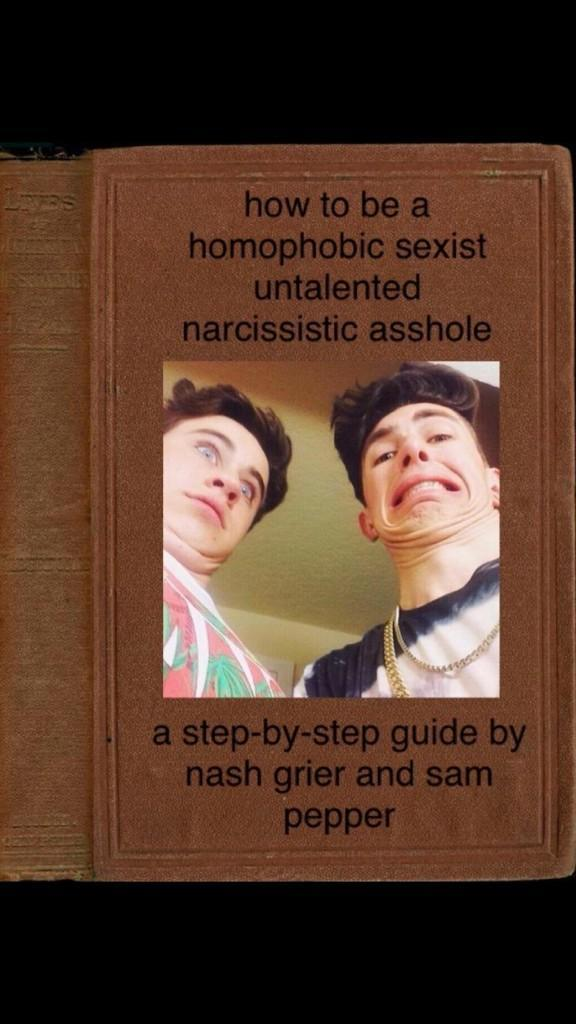 If Sam Pepper and Nash Grier wrote a book. http://t.co/YcHEywXEpB