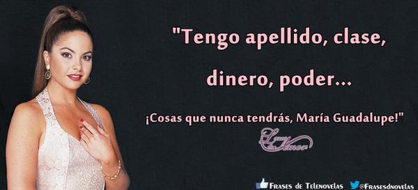 Frases De Telenovela On Twitter María Paula Rivas Iturbe