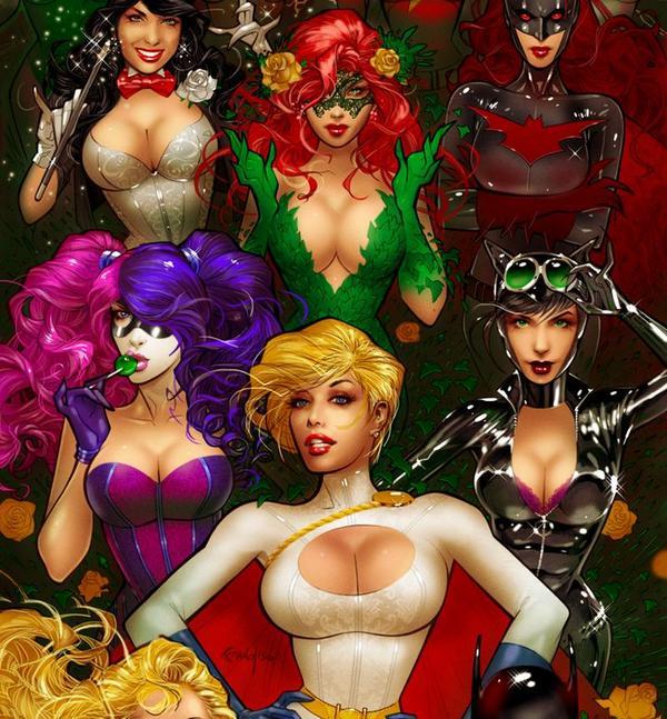 Wonder woman leandro porn comics