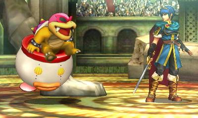 Poor Marth. He was expectin da Sword of Seals user, but it was I, Roy Koopa! http://t.co/3u3pBwk03w
