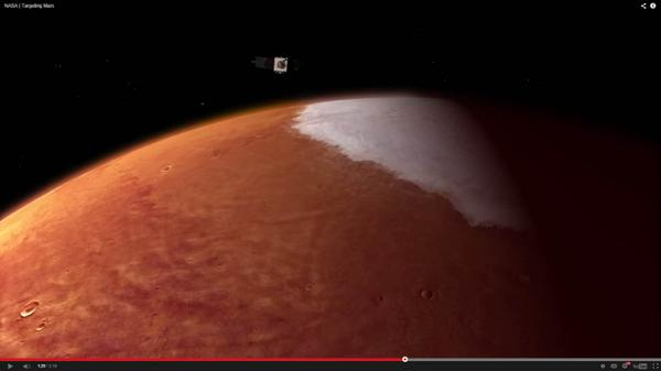 Initial confirmation that #MAVEN is in orbit around #Mars. Watch: http://t.co/l7ge2PhMhk  http://t.co/mMQSQeCyFM
