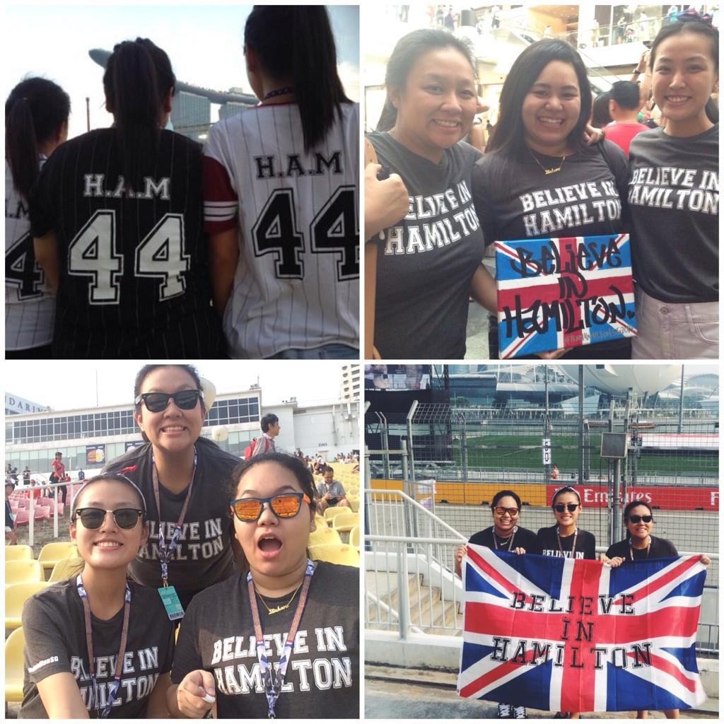 RT @TeamHamiltonSG: @LewisHamilton Thank you for the incredible weekend too!! Your #BelieveInHamilton fans will see you next year! http://t…