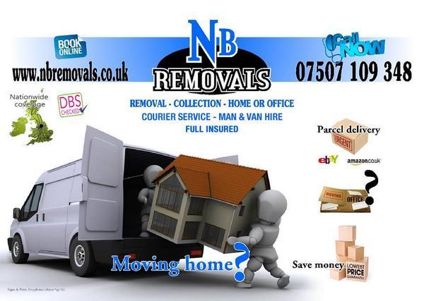 Van Hire Bedford >> Nb Removals Bedford Man And Van Nbbedford Twitter