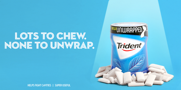 Trident Gum On Twitter We Decided To Lose The Wrapper Introducing