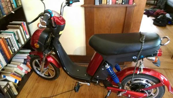Roketa Es 44 Emmo Urban Electric Bike Review Chris Freitas On Radio