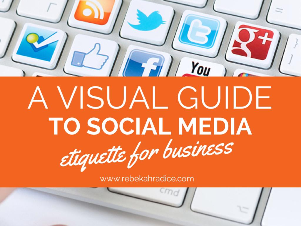 RT @GuyKawasaki: A visual guide to #socialmedia etiquette - http://t.co/R4FgoYtjkc via @RebekahRadice http://t.co/eSFVquknjU