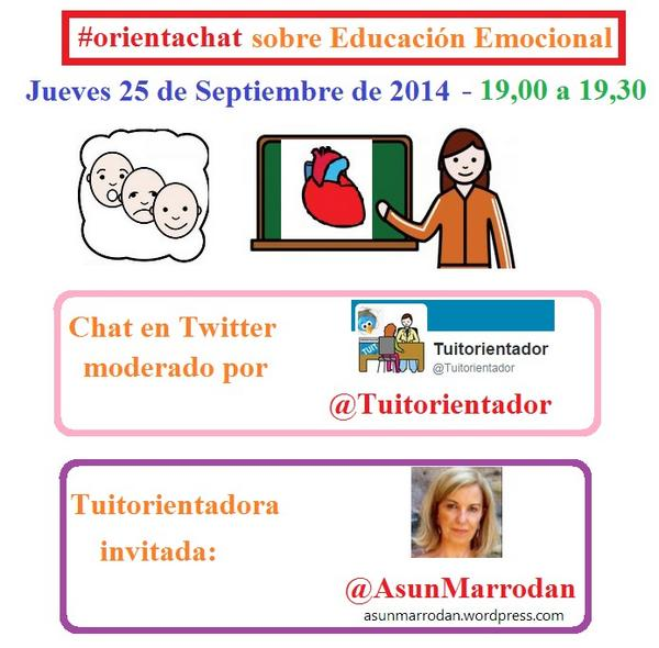 Thumbnail for #orientachat sobre Educación Emocional (25-9-2014)