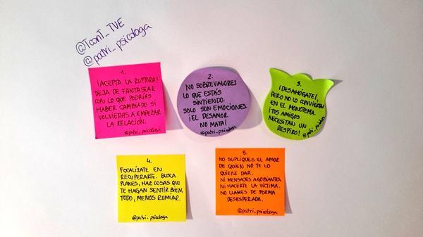 Patricia Ramírez On Twitter Nuestros Cinco Consejos Para Superar