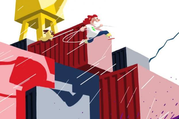 Jennifer 'Ab Fab' Saunders narrates this delightful animated clothing ad http://t.co/r1SlSnHGvQ http://t.co/UcLxsj1sGK