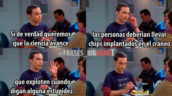 The Big Bang Theory At Frasesbigbangt Twitter