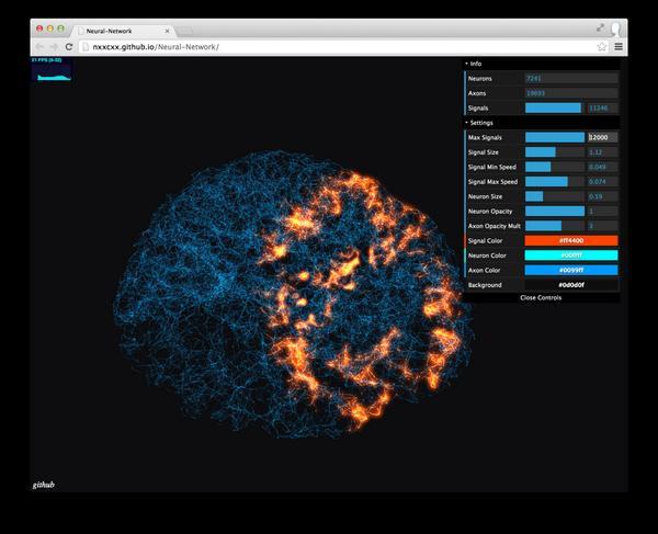Artificial neural network. #threejs http://t.co/tqlB2USf5N http://t.co/1eYri3mGDk