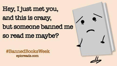 #BannedBooksWeek roundup: Most challenged books, funny authors' responses to book bans & more  http://t.co/c4COWsT4LJ http://t.co/zKzDZ5APnd