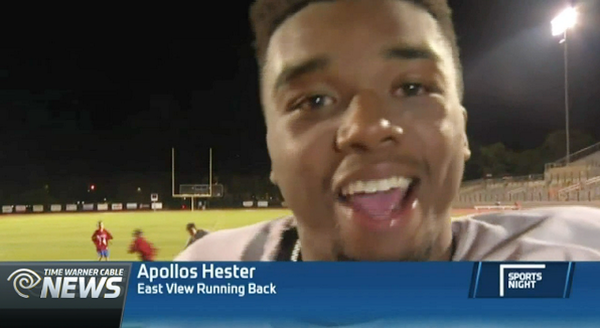 Best. Post-game. Interview. EVER.  WATCH: http://t.co/PYkkdLVgfY http://t.co/TBMtrIlWQL