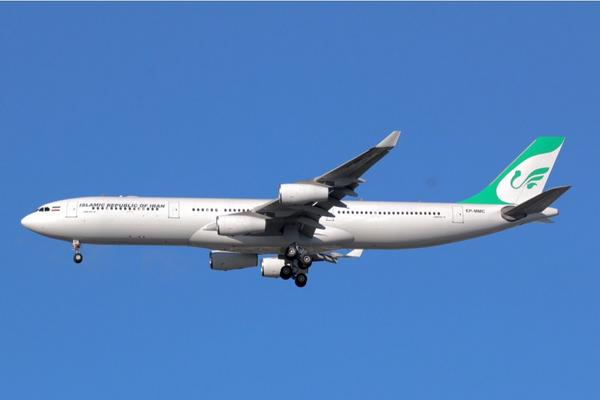 A true treasure of today's arrivals: a Mahan Air A340-300 bringing the Iranians to #UNWeek. #UNGA14 @NYCAviation http://t.co/vA3fwrSKfN
