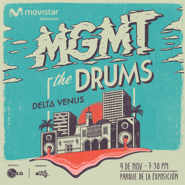 MGMT will be performing in Peru for the first time ever this November! Click here for info: http://t.co/CMAqQrQkDt http://t.co/ECj23xaPm0