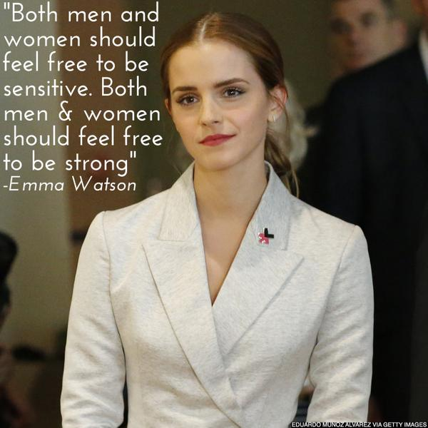 Yes! @EmWatson launching @UN_Women's #HeForShe gender equality campaign: http://t.co/JbRVF3krxL http://t.co/JFHDUPOaf8