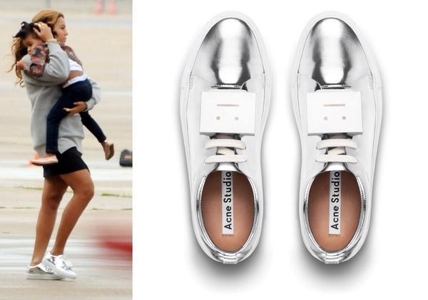 Silver Adriana Sneakers Acne Studios 6fyZsS4hv