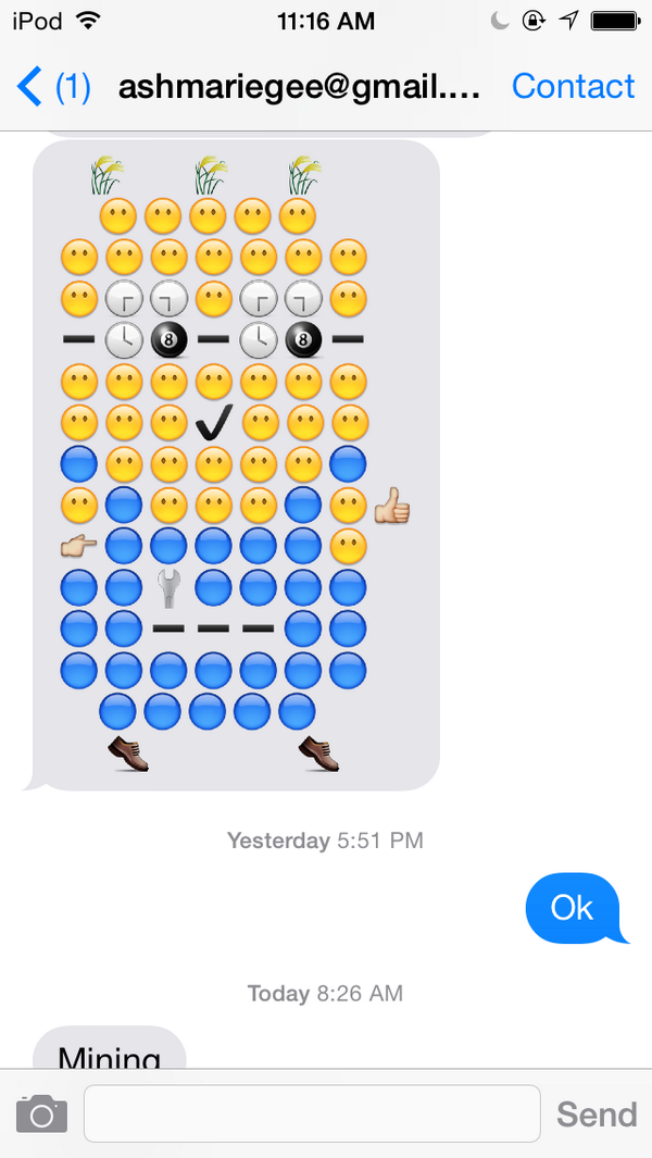 pictures out of emojis