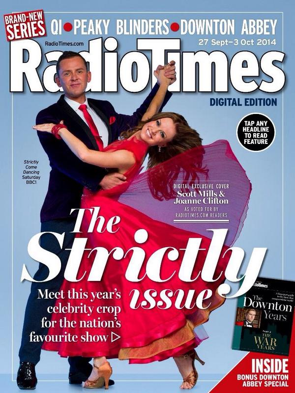 Scott and Joanne are on the Radio Times Cover! I'm so happy