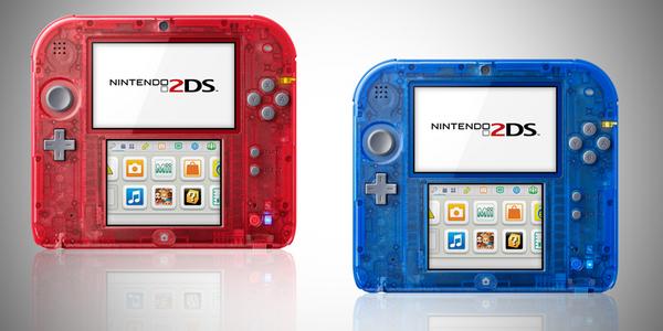 Nintendo 2DS transparente