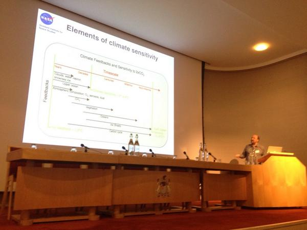 Schmidt: elements of climate sensitivity  #RSArctic14 http://t.co/JhFAkI5IUu