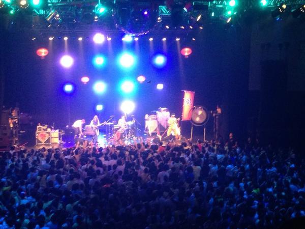 メチャクチャ!!夙川、ミイラズ、キュウソの3方向ライブ!!! http://t.co/eZVOZZgOcy