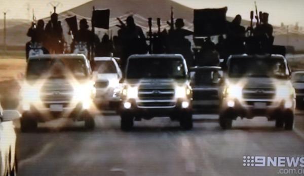 isis toyota convoy