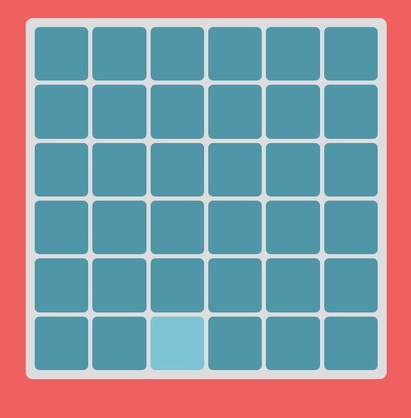 タイルの中から一個だけ薄い色のやつがあるのでそれをクリックするだけのゲーム。レベル31までいけた。 http://t.co/Mc2WL8NBrI  http://t.co/cl5DxeO4pZ
