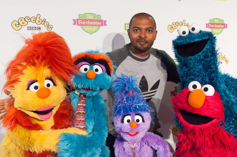 RT @CBeebiesHQ: Staff from @TheFurchester Hotel welcome @NoelClarke with furry arms at our premiere: http://t.co/6O6tKaXx7j