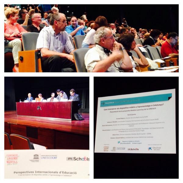 Com incorporem els dispositius mòbils a l'acció educativa? @FundacioBofill ens garanteix un bon debat @CaixaForum http://t.co/fGo50mn2vb