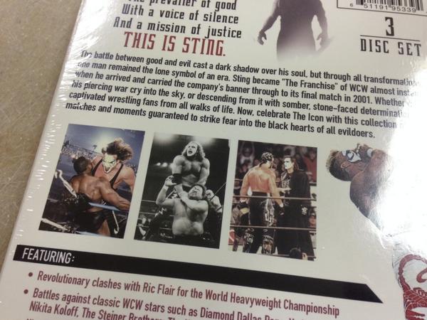 Post image of Почему WWE Network провалился, причина #115: Стинг и DVD