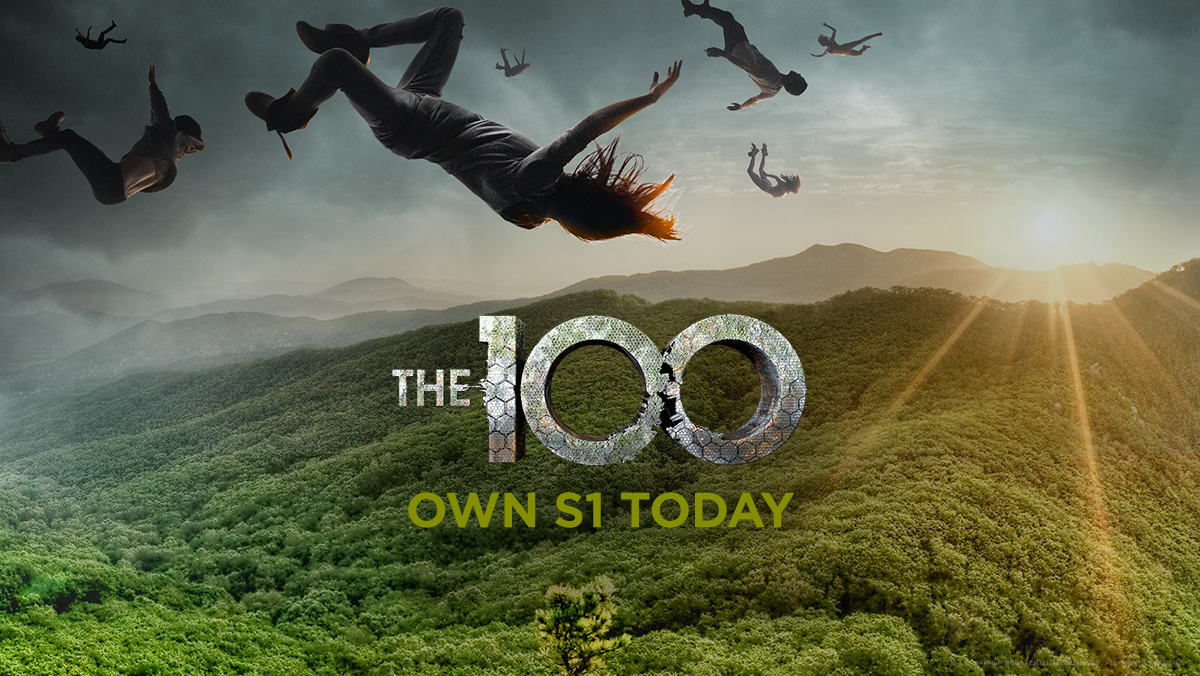 RT @cwthe100: The human race's last hope. #The100 season 1 lands on Blu-ray™, DVD & Digital HD today: http://t.co/jl6jDMvPx3 http://t.co/CR…
