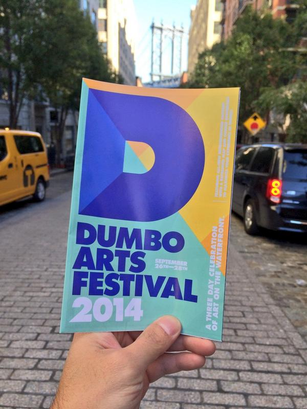 This weekend is the 18th annual @DUMBOArtsFest. Every corner of Dumbo will feature arts & experiences. http://t.co/jLfDAqVGUs
