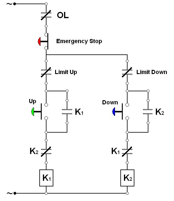 wiring diagram rangkaian lift 2 lantai