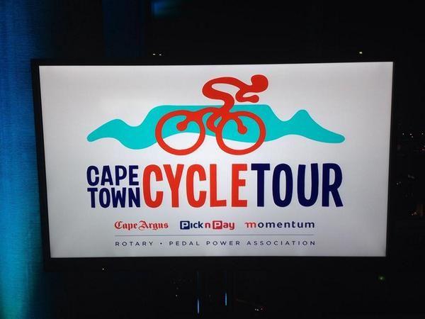 So this is the new renamed 'Argus' logo, now known as the Cape Town Cycle Tour. What do you think? http://t.co/hAeN1RAMN7