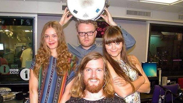 Tonight about 11pm on @BBCR1 hear @FirstAidKitBand choose the music that inspired them. Here we are back in the day! http://t.co/dIPFoSzUyV