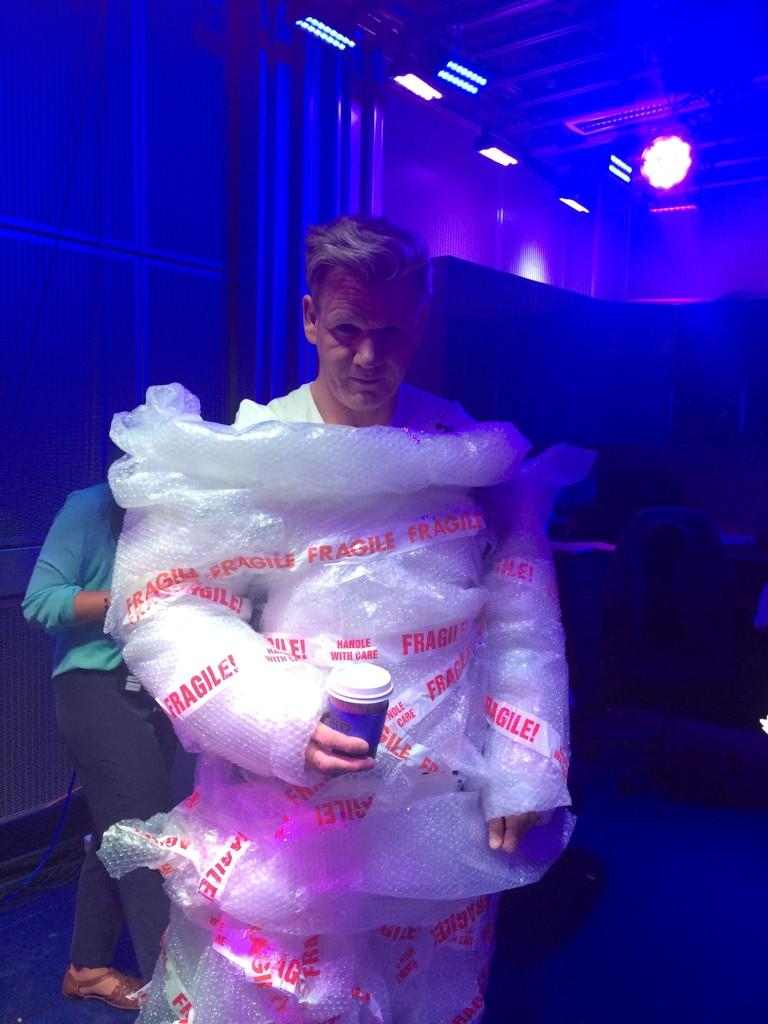 I love the #TheOneShow .... Well until they came up with this idea! http://t.co/B3fo0IuFIt