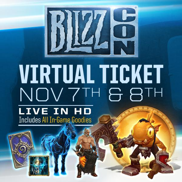 BlizzCon 2018 Virtual Ticket - Hearthstone: In-Game Item ...