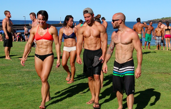 Crossfitmiranda Dan Bailey9 And Cspealler After A Recent Crossfit Poipu Saay Beach Workout Crossfitpic Twitter Y1wkh77qst