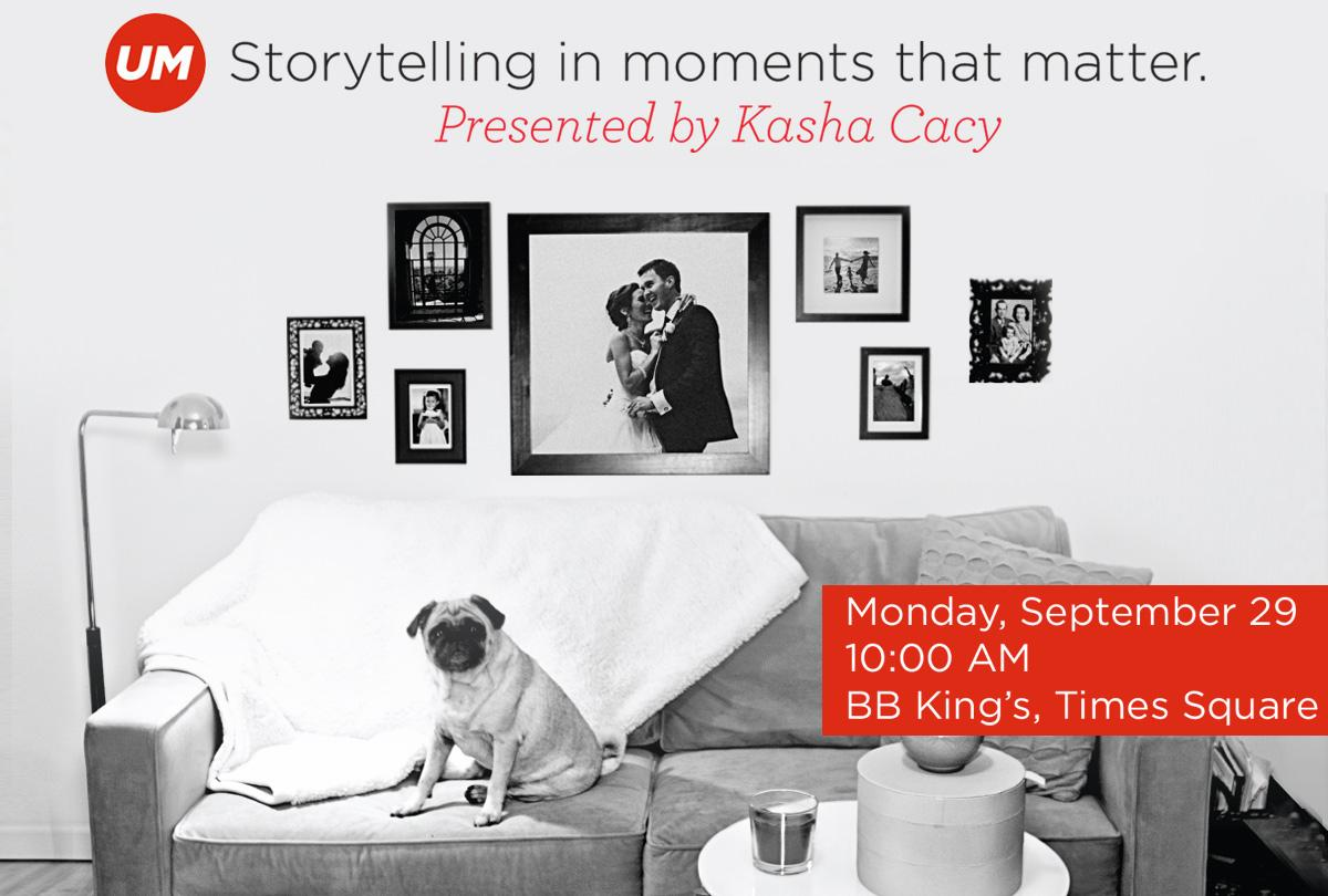 """RT @advertisingweek: Join Kasha Cacy, @UMWorldwide's U.S. Pres., for """"Storytelling in Moments that Matter"""" this Monday at 10:00 AM! #AWXI h…"""